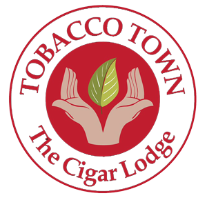 TOBACCO TOWN – The Cigar Lodge Retina Logo