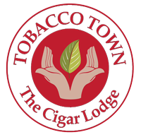 TOBACCO TOWN – The Cigar Lodge Logo